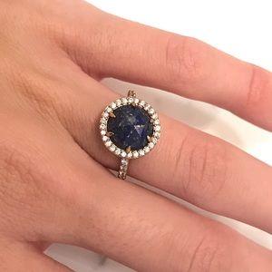 Henri Bendel Luxe Semi Precious Gem Ring Size 8